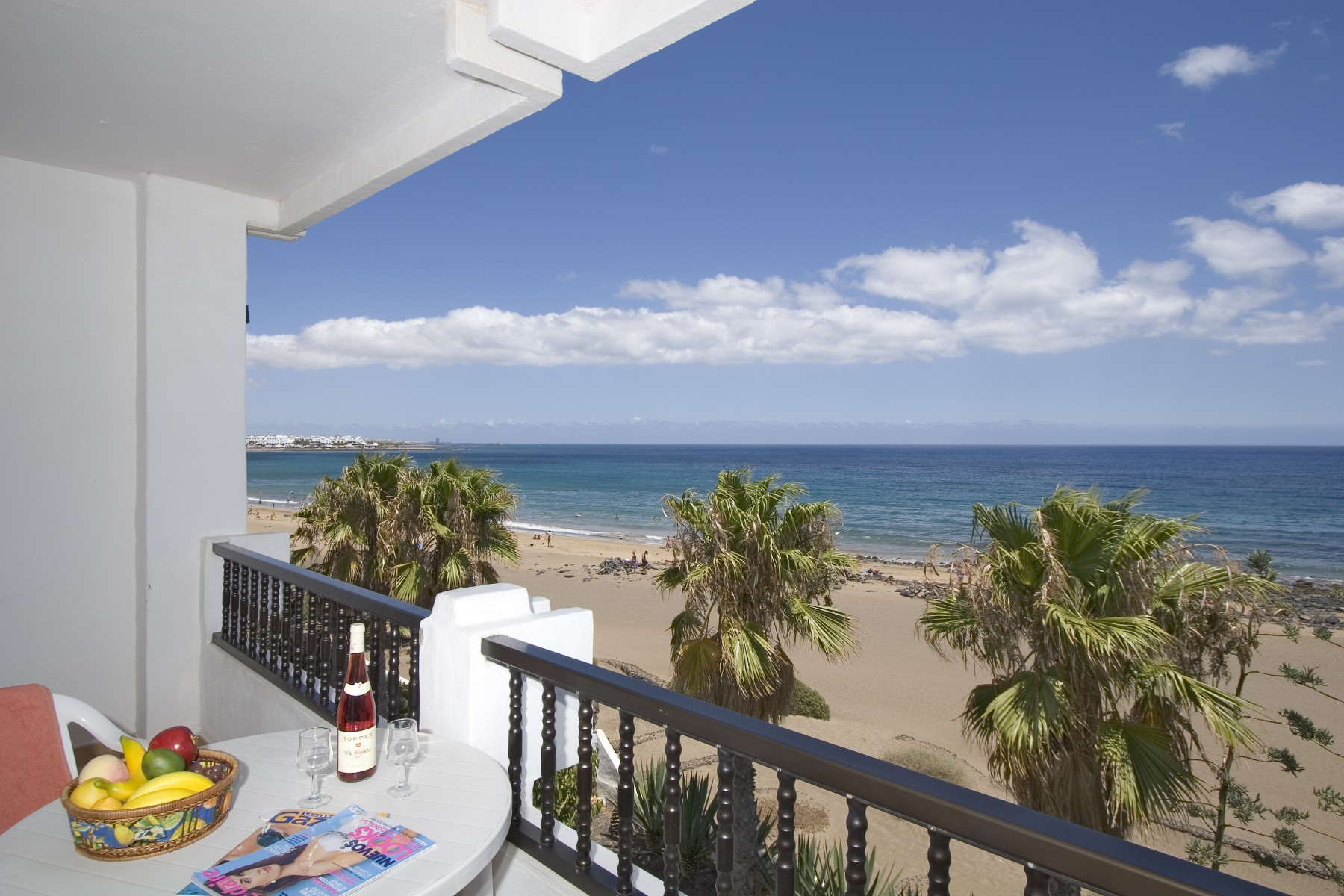 ... Apartment in Puerto del Carmen - Costa Luz block 6 beach-front 2 bed 2 ...